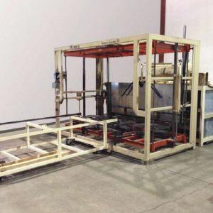 1980 ZMD Single Station Vacuum Former