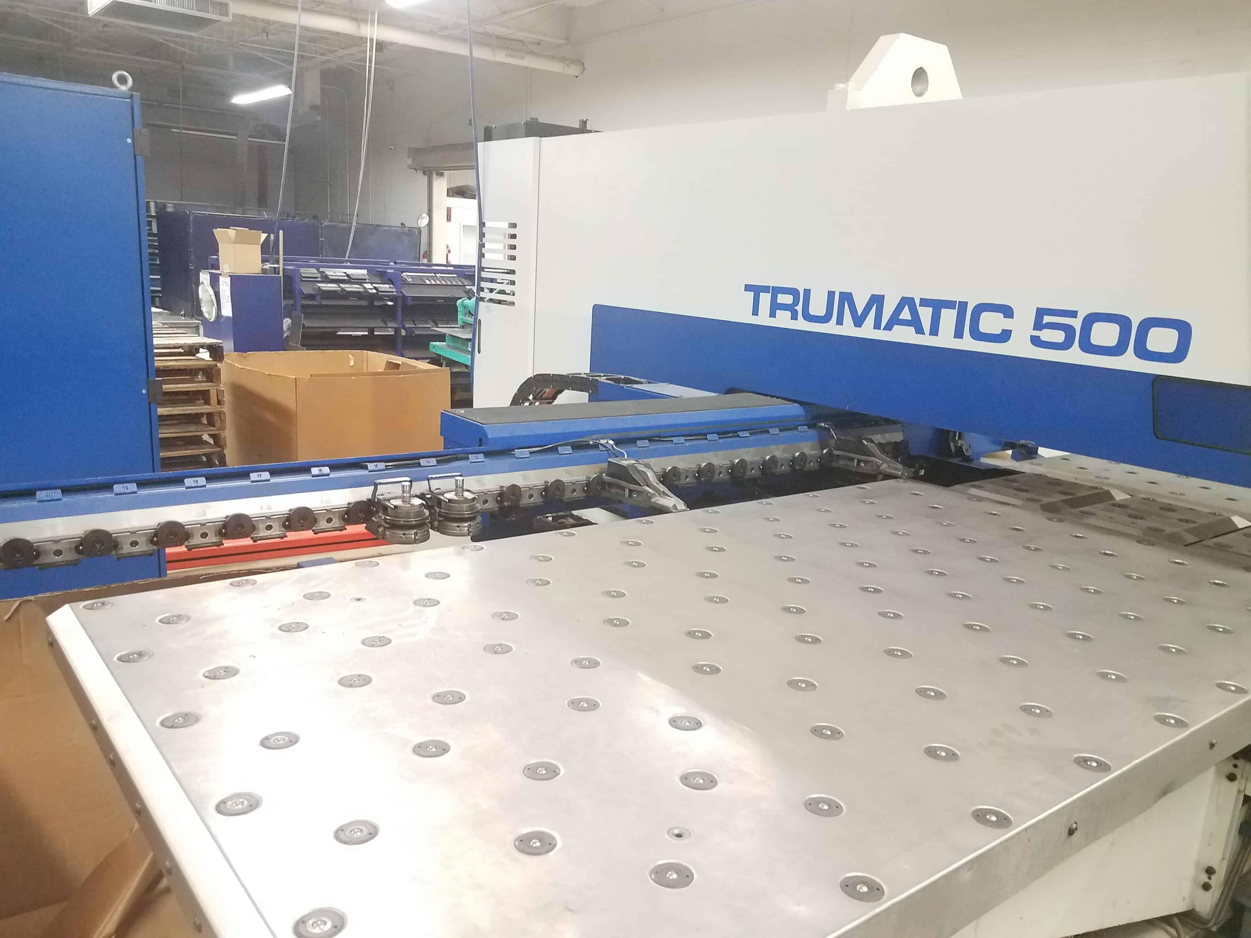 2000 Trumpf Trumatic 500