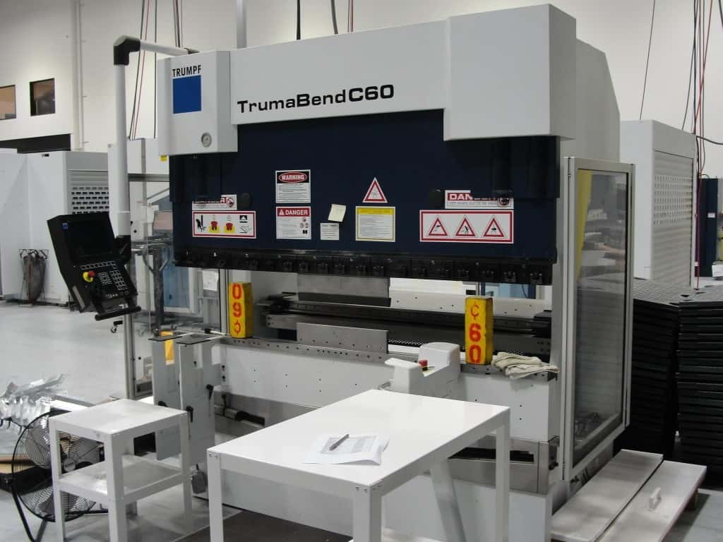 2003 Trumpf TrumaBend C60