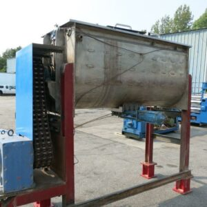 Ribbon Blender Stainless Steel - Temperature Controlled