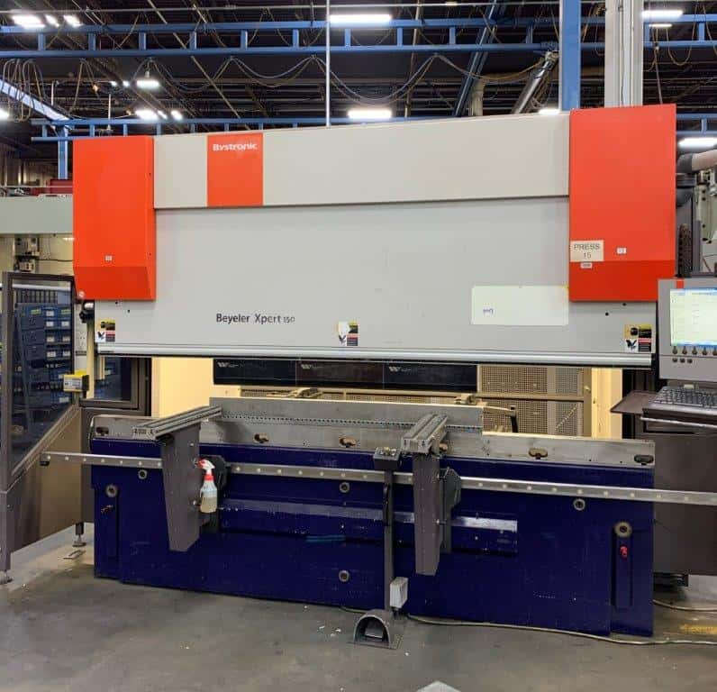 2010 Bystronic Xpert 150/3100