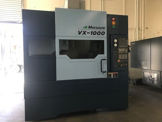 2014 Matsuura VX-1000