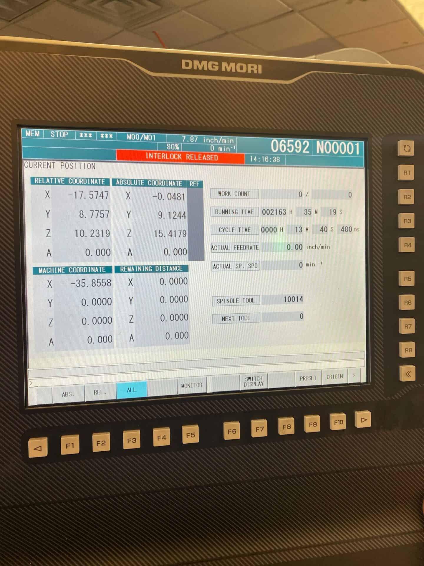 dmg mori cmx 1100 v price