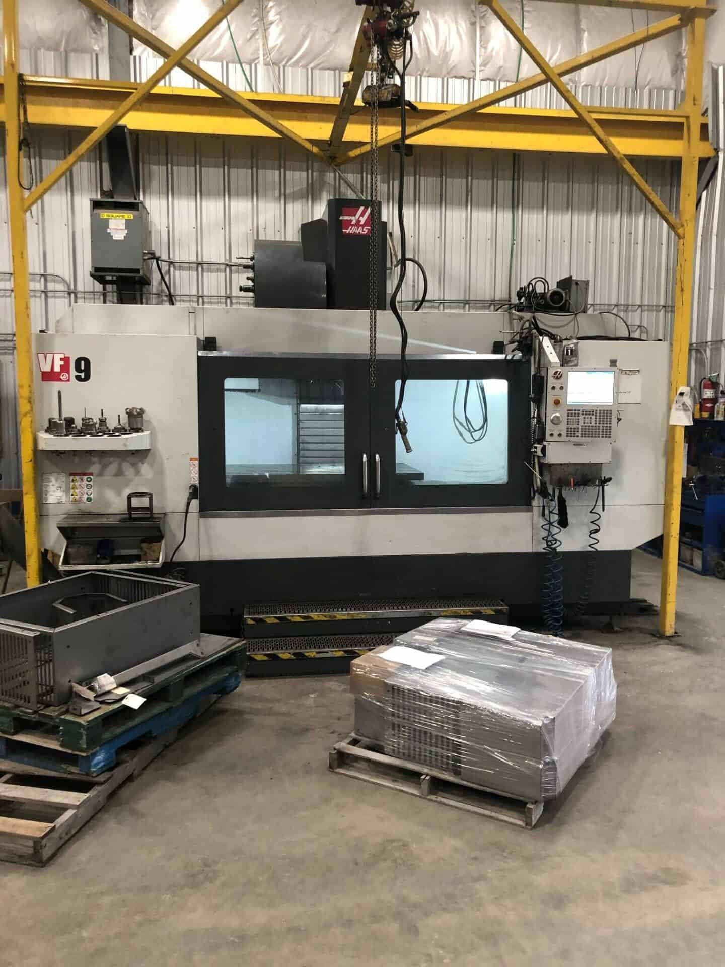 2018 Haas VF-9/50