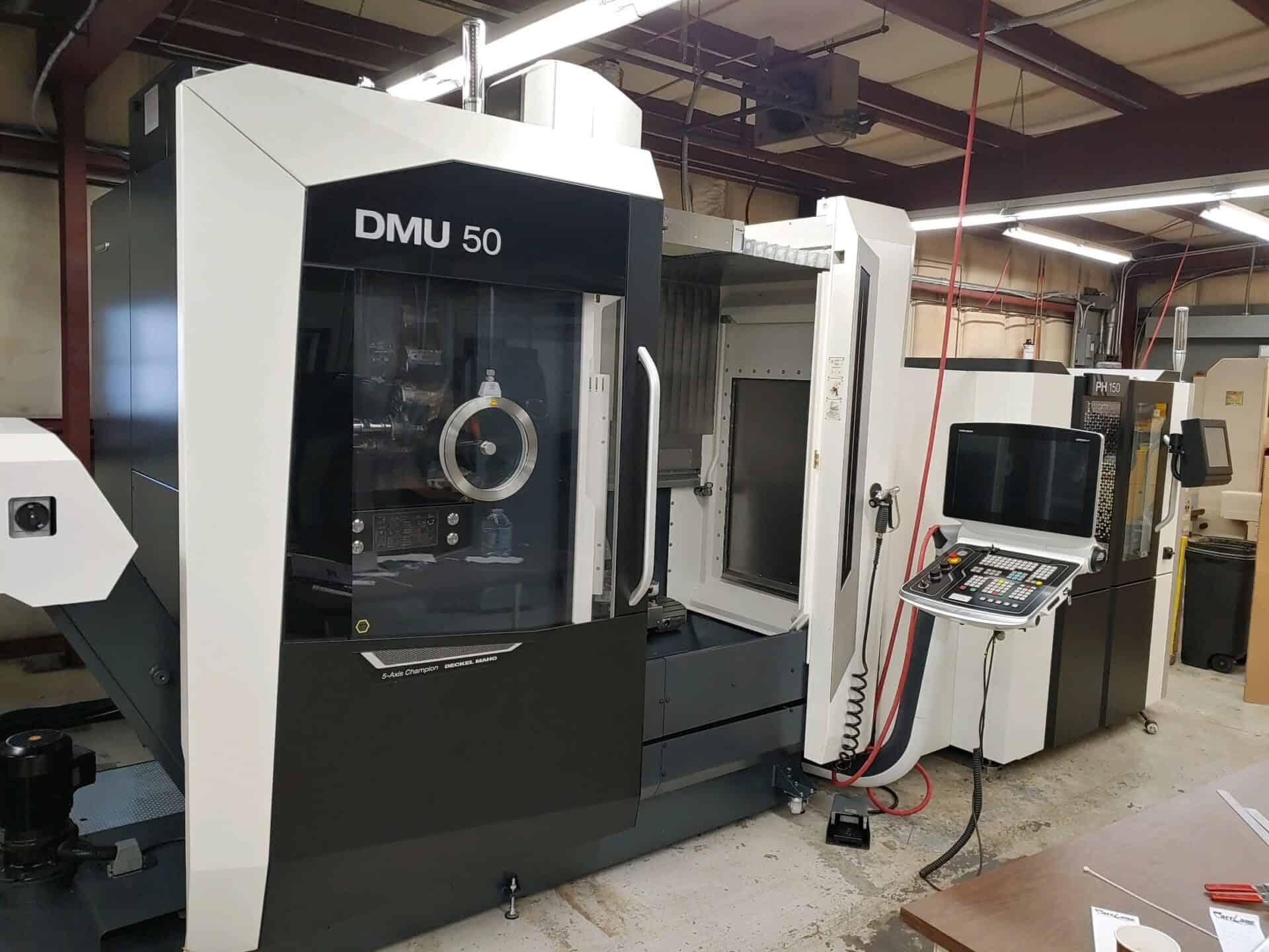 2020 DMG Mori DMU 50