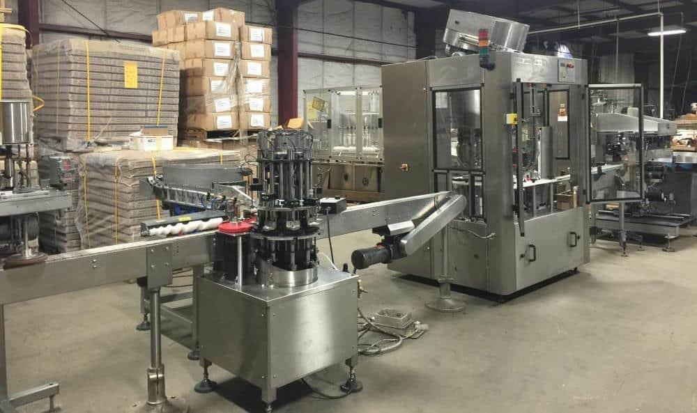 JG Machine Nail Polish Filling Line