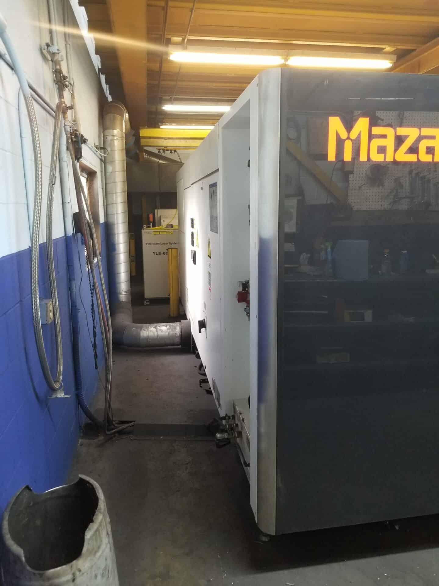 2016 Mazak Optiplex 3015 Fiber