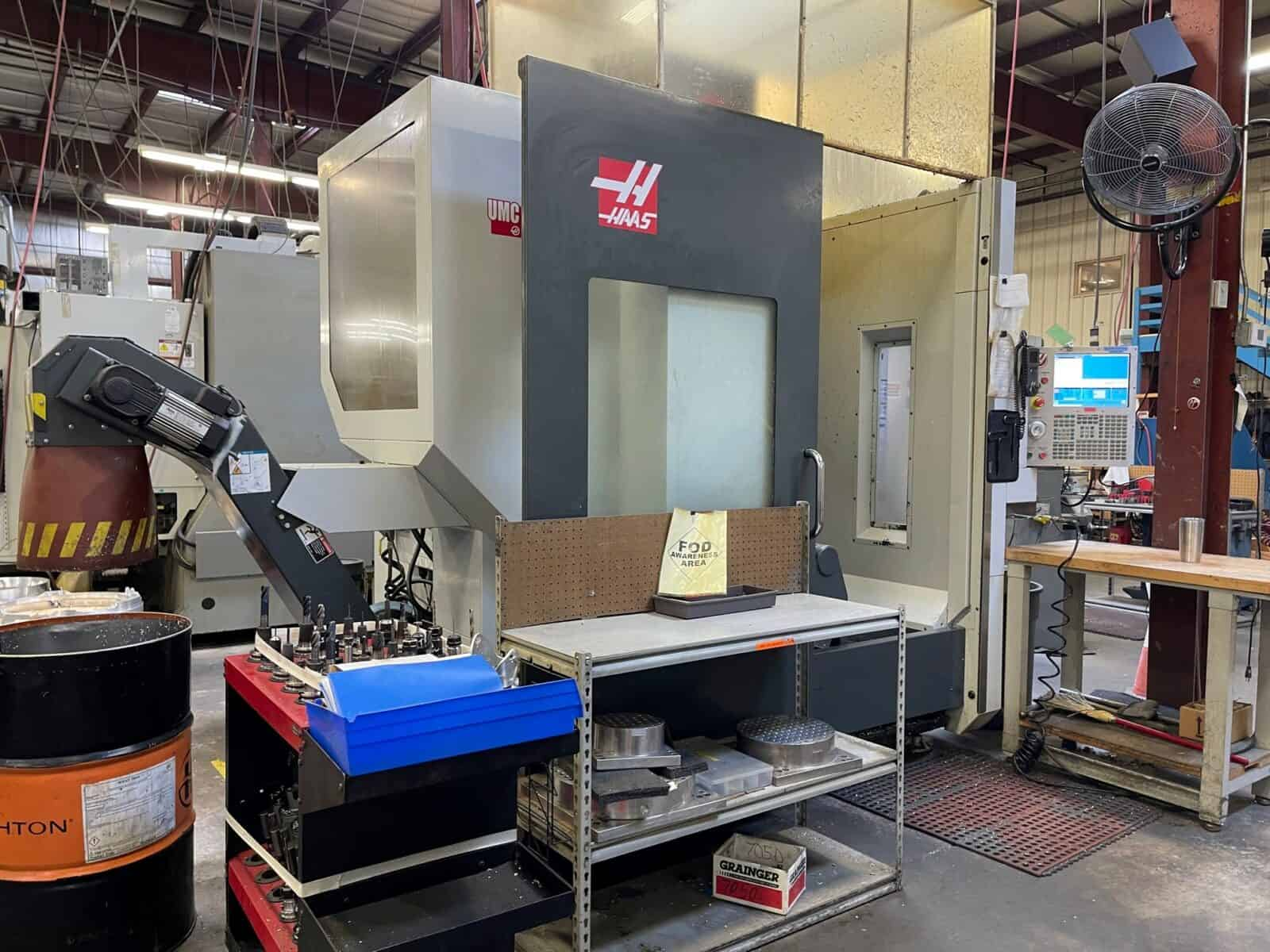 2015 Haas UMC-750