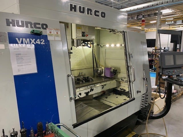 2006 Hurco VMX42